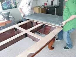 Pool table moves in Columbus Indiana