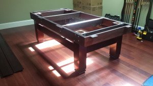 Correctly performing pool table installations, Columbus Indiana